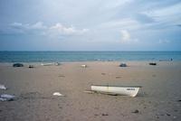 浜辺のボート
