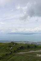 ボコール山からの海の眺め