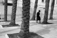 市街を歩く正統派ユダヤ教徒