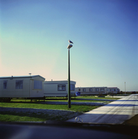 G.B. ENGLAND. Kent. New Romney. Caravan site. 2002