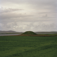 GB. Scotland. The Orkney Islands. The UNESCO World Heritage site, The Neolithic Heart of The Orkneys. Maeshowe Chambered cairn,