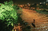 COLOMBIA. Medellin, Christmas decorations. December 2005. 02265045374| 写真素材・ストックフォト・画像・イラスト素材|アマナイメージズ