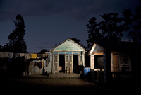 HAITI. Plateau Central. 2007. The house where HIV positive couple Chery Relnel and Claudette live.