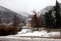Georgia. Zugdidi. A traditional Georgian church on the road to Zugdidi. 02265047407| 写真素材・ストックフォト・画像・イラスト素材|アマナイメージズ