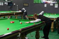 MYANMAR.  Nay Pyi Taw. Athletic Training Centre number 2. Snooker and Billiards. 2013. 02265047467| 写真素材・ストックフォト・画像・イラスト素材|アマナイメージズ