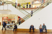 GB. England. Dudley. Black Country Stories. Merry Hill Shopping Centre. 2014 02265047532| 写真素材・ストックフォト・画像・イラスト素材|アマナイメージズ