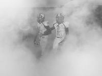 USA. South Lake, Texas. 2013. Rosebud-Lott vs. Waskom. Class 2A-Division II high school football playoffs. 02265047632| 写真素材・ストックフォト・画像・イラスト素材|アマナイメージズ