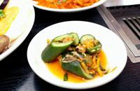 韓国料理のオイキムチ