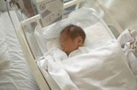 保育器の中の新生児 02266008573| 写真素材・ストックフォト・画像・イラスト素材|アマナイメージズ