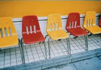 赤と黄の椅子