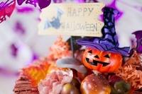 ハロウィンのお化けかぼちゃデコレーション 02282000228| 写真素材・ストックフォト・画像・イラスト素材|アマナイメージズ