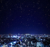 新宿方面の夜景 02284000767| 写真素材・ストックフォト・画像・イラスト素材|アマナイメージズ