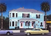 Blue Home 02290000108| 写真素材・ストックフォト・画像・イラスト素材|アマナイメージズ