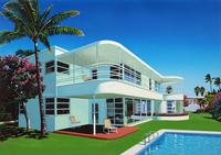 ハリウッドヒルズ—ハリウッドに建つ家のイメージ 02290000137| 写真素材・ストックフォト・画像・イラスト素材|アマナイメージズ