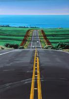 海へ続く道 02290000138| 写真素材・ストックフォト・画像・イラスト素材|アマナイメージズ