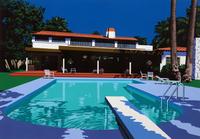 プールと住宅 02290000174| 写真素材・ストックフォト・画像・イラスト素材|アマナイメージズ