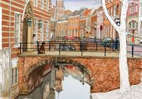 橋のある街 02290000177| 写真素材・ストックフォト・画像・イラスト素材|アマナイメージズ
