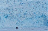 春の氷河 スピッツベルゲン島 スバールバル諸島 ノルウェー