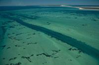 サンゴ礁の海の空撮 02296003149| 写真素材・ストックフォト・画像・イラスト素材|アマナイメージズ