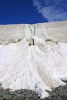 地球温暖化の影響を受けた滝