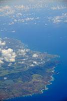 ハワイ島上空