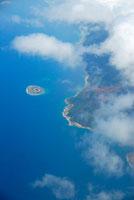 ニューカレドニア島上空