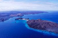 ガラパゴス諸島空撮