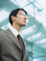 日本人ビジネスマン横顔