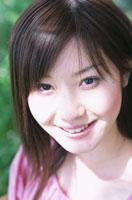 日本人の女の子のアップ