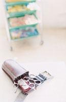 美容室の理髪道具