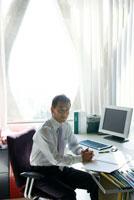 オフィスのビジネスマン