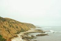 海岸線と空