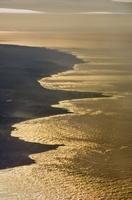 Coastline near Half Moon Bay (aerial), California
