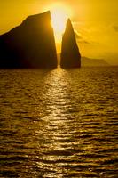Kicker Rock at sunrise, Galapagos Islands