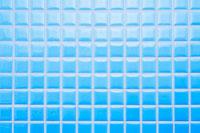 青いタイル