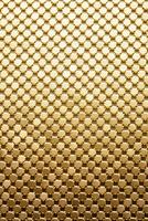 ゴールドの金属素材