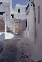白い街並み ミコノス島 ギリシャ 02319000004| 写真素材・ストックフォト・画像・イラスト素材|アマナイメージズ