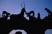 ラレ−城の夕景 フランス 02319000024| 写真素材・ストックフォト・画像・イラスト素材|アマナイメージズ