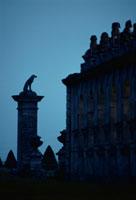 ラレ−城の夕景 フランス