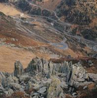 山の斜面 モンブラン スイス 02319000028| 写真素材・ストックフォト・画像・イラスト素材|アマナイメージズ
