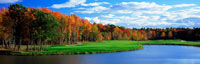 Golf Course New England USA