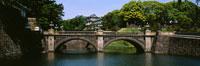 Palace behind a bridge