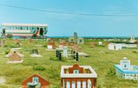 スリランカの墓地