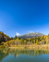 秋の野麦峠から乗鞍岳