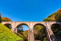 秋の碓氷第三橋梁