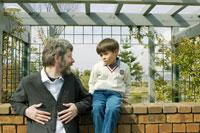 お父さんと男の子