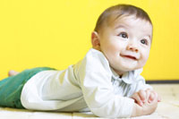 赤ちゃん 02336002517B  写真素材・ストックフォト・画像・イラスト素材 アマナイメージズ