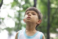 ハーフの男の子 02336002899  写真素材・ストックフォト・画像・イラスト素材 アマナイメージズ
