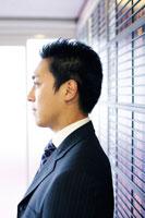 ビジネスマンの横顔