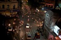 夜のハノイの街の道 02337000017| 写真素材・ストックフォト・画像・イラスト素材|アマナイメージズ